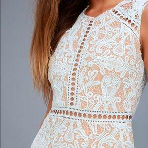 Beautiful summer dress - light blue